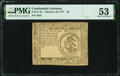 Colonial Notes:Continental Congress Issues, Continental Currency February 26, 1777 $3 PMG About Uncirculated 53.. ...