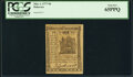 Colonial Notes:Delaware, Delaware May 1, 1777 9d PCGS Gem New 65PPQ.. ...
