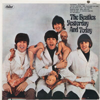 """The Beatles Yesterday and Today Third State Peeled Mono """"Butcher Cover"""" Album Plus Trunk Pas"""