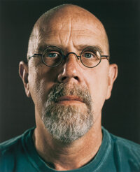 Chuck Close (b. 1940) Untitled (Self Portrait), 2007 Digital pigment print on Epson hot pressed brig