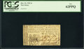 Colonial Notes:New Jersey, New Jersey December 31, 1763 1s PCGS New 62PPQ.. ...