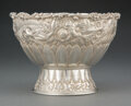 Silver & Vertu, A Tiffany & Co. Silver Floral Repoussé Ice Bowl, New York, 1877. Marks: TIFFANY & Co., 4780 M 5399, STERLING SILVER. 5-1...