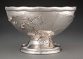 Silver & Vertu, A Tiffany & Co. Partial Gilt Silver Punch Bowl, New York, 1877-1891. Marks: TIFFANY & CO., 5026 MAKERS 3853, STERLING SILV...