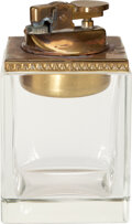 Movie/TV Memorabilia:Memorabilia, Marlene Dietrich Owned Glass Cigarette Lighter....