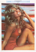 "Movie/TV Memorabilia:Posters, Farrah Fawcett Personally Owned ""The Poster."" ..."