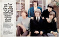 Music Memorabilia:Autographs and Signed Items, The Rolling Stones Signed Rave Magazine Pages (UK, 1965)....