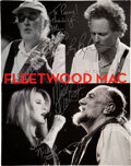 Music Memorabilia:Autographs and Signed Items, Fleetwood Mac Signed and Inscribed Say You Will Tour Program (2003-2004)....