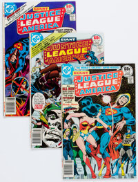 Justice League of America Group OF 23 (DC, 1977-79) Condition: Average VF.... (Total: 23 Comic Books)