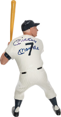 1983 Mickey Mantle Signed Hartland Statue