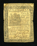 Colonial Notes:Delaware, Delaware May 1, 1777 2s/6d Very Fine....