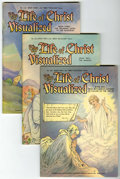 Golden Age (1938-1955):Religious, Life of Christ Visualized #1051, 1052, and 1053 Group (StandardPublishers, 1942) Condition: Average VF/NM.... (Total: 3 ComicBooks)