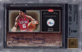 Basketball Cards:Singles (1980-Now), 2005 Greats of The Game Julius Irving (Autographs) #GG-JE BGS Mint 9, Auto 10....