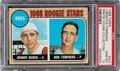 Baseball Cards:Singles (1960-1969), 1968 Topps Johnny Bench - Reds Rookies #247 PSA Gem Mint 10 - Dimitri Young Collection. ...