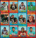 Football Cards:Lots, 1971 Topps Football Collection (398). ...