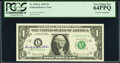 Dorothy Andrews Elston Courtesy Autographed Fr. 1903-L $1 1969 Federal Reserve Note. PCGS Very Choice New 64PPQ