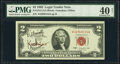 Small Size:Legal Tender Notes, Kreskin Courtesy Autographed Fr. 1513 $2 1963 Legal Tender Note. PMG Extremely Fine 40 Net.. ...