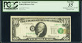 Shifted Third Printing Error Fr. 2018-B $10 1969 Federal Reserve Note. PCGS Very Fine 35