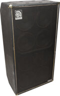Musical Instruments:Amplifiers, PA, & Effects, circa 1990's Ampeg SVT810E Black Guitar Speaker Cabinet, Serial #BQWD020069.. ...