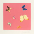 Prints & Multiples, Damien Hirst (b. 1965). Lullaby, from Love Poems, 2014. Photogravure etching with lithographic overlay in colors on ...