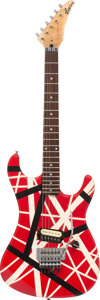 Musical Instruments:Electric Guitars, Eddie Van Halen's Kramer Striker/Ripley Rosewood Fingerboard Frankenstrat Solid Body Electric Guitar.. ...