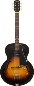 Musical Instruments:Electric Guitars, 1953 Gibson ES-125 Sunburst Archtop Electric Guitar, Serial #Y70148.. ...