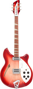 Musical Instruments:Electric Guitars, 2000 Rickenbacker 360 CW Carl Wilson Limited Edition Fireglo Semi-Hollow Body Electric Guitar, Serial #00 28911.. ...