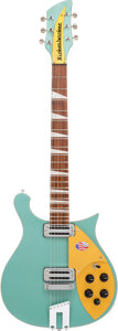 Musical Instruments:Electric Guitars, 2019 Rickenbacker 660 Cadillac Green Solid Body Electric Guitar, Serial #19 26003.. ...