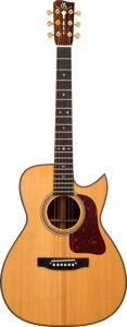 Musical Instruments:Acoustic Guitars, Gallagher Ragtime Special Natural Acoustic Guitar, Serial #3119.. ...