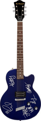 The Go-Go's Signed De Armond Electric Guitar