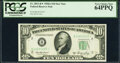 Small Size:Federal Reserve Notes, Fr. 2011-B* $10 1950A Federal Reserve Star Note. PCGS Very Choice New 64PPQ.. ...