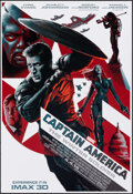"""Movie Posters:Action, Captain America: The Winter Soldier (Walt Disney Pictures, 2014). Rolled, Very Fine. IMAX Mini Poster (13"""" X 19"""") SS Advance..."""