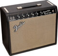 Musical Instruments:Amplifiers, PA, & Effects, 1965 Fender Princeton Reverb Black Guitar Amplifier, Serial #A07289.. ...