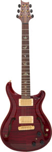 Musical Instruments:Electric Guitars, 2004 Paul Reed Smith (PRS) McCarty Cherry Semi-Hollow Body Electric Guitar, Serial #4 92527.. ...