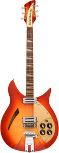 Musical Instruments:Electric Guitars, 1960 Rickenbacker 365 Capri Fireglo Semi-Hollow Body Electric Guitar, Serial #2R055.. ...