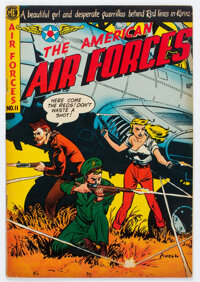 The American Air Forces #11 (Wm. H. Wise & Co., 1953) Condition: FN/VF