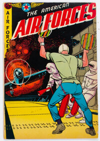 The American Air Forces #12 (Wm. H. Wise & Co., 1953) Condition: FN+