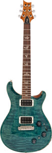 Musical Instruments:Electric Guitars, 2012 Paul Reed Smith (PRS) P22 Teal Solid Body Electric Guitar, Serial #188536.. ...