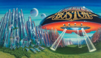 Gary Norman (American, 20th Century) Boston-Don't Look Back album cover, 1978 Acrylic and airbrush o