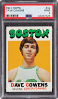 Basketball Cards:Singles (1970-1979), 1971 Topps Dave Cowens #47 PSA Mint 9 - Only One Higher....