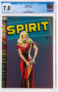 Golden Age (1938-1955):Superhero, The Spirit #22 (Quality, 1950) CGC FN/VF 7.0 Cream to off-white pages....