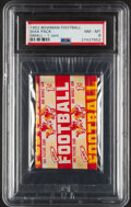 Football Cards:Singles (1950-1959), 1952 Bowman Small Football 1-Cent Unopened Wax Pack PSA NM-MT 8....