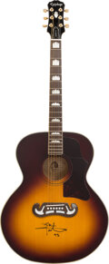 Musical Instruments:Acoustic Guitars, Pete Townshend Signed and Inscribed Epiphone Acoustic Guitar.. ...