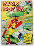 Golden Age (1938-1955):Adventure, Buck Rogers #4 (Eastern Color, 1942) Condition: GD+....