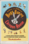 """Movie Posters:Animation, Bugs Bunny Cartoon Revue (Warner Bros., 1953). Folded, Very Fine-. One Sheet (27"""" X 41""""). Animation.. ..."""