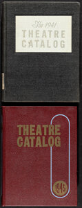 Movie Posters:Miscellaneous, Theatre Catalog Lot (Jay Emanuel Publications, 1941/1945). Very Fine. Hardbound Exhibitor Theatre Catalogs (2) (Multiple Pag... (Total: 2 Items)