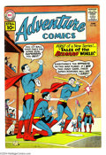"Silver Age (1956-1969):Superhero, Adventure Comics #285 (DC, 1961) Condition: FN. First ""Tales of the Bizarro World"" in this title. Curt Swan cover. Swan and ..."