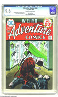 Silver Age (1956-1969):Adventure, Adventure Comics #434 (DC, 1974) CGC NM+ 9.6 Off-white to white pages. Spectre story. Jim Aparo cover. Frank Thorne and Apar...