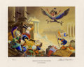 "Original Comic Art:Miscellaneous, Carl Barks - ""Menace Out of the Myths"" Miniature Lithograph Print#4/595 (Another Rainbow, 1994). . ..."