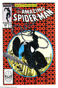The Amazing Spider-Man #300 (Marvel, 1988) Condition: NM-. First full appearance of Venom. Todd McFarlane art. Overstree...