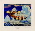 "Original Comic Art:Miscellaneous, Carl Barks - ""Luck of the North"" Miniature Lithograph Print #4/595(Another Rainbow, 2000). . ..."